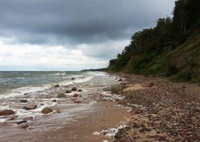 Pāvilosta - Labrags: Krasta dažādība