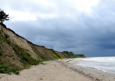 Pāvilosta - Labrags: Baltijas jūras stāvkrasts (Foto: Inese Andersone)