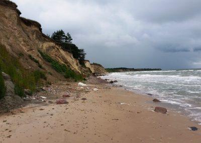 Pāvilosta - Labrags: Baltijas jūras stāvkrasts