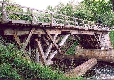 Pāvilosta - Labrags: Rīvas tiltam gājis pāri vecais Liepāja - Ventspils dzelzceļš