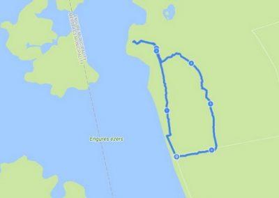 Taka atrodas starp Engures ezeru un jūru