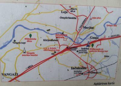 Inčukalna Velnala - atrašanās vieta kartē